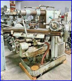 KEARNEY TRECKER MILWAUKEE Model K Horizontal Mill Milling Machine Dividing Head