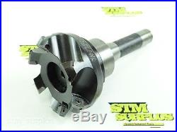 KENNAMETAL 3-1/2 DIAMETER INDEXABLE BEVEL EDGE FACE MILL With R8 SHANK