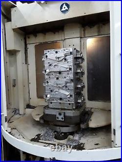 KITAMURA HX-400iF HORIZONTAL MILL 2005 Full 4th Axis Fanuc 16iMB 13K RPM 150ATC
