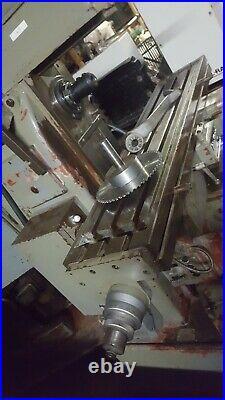 Kao Fong Rutland Logo Vertica/horizontal Milling Machine