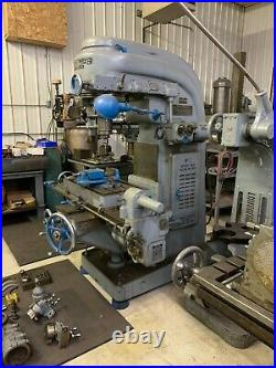 Kearney & Trecker #D Rotary Head Milling Machine Item 1096