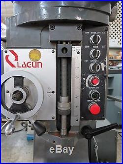 LAGUN FTV-510 Heavy Duty Vertical Milling Machine Year 1989