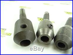 LOT OF BRIDGEPORT MILL R8 SHANK TOOLING END & FACE MILL HOLDERS
