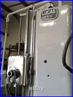 LUCAS HORIZONTAL BORING AND MILLING MACHINE