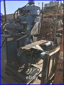 Lagun Matic 110 Cnc Milling Machine, Dynapath System 10 Cnc