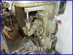 Linley milling machine -jig bore-vintage Linley jig bore mill with tooling &vise