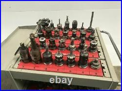Lot of 60 CAT40 EndMill Tool Holders for CNC Haas VF2 VF3 VF4 VMC Milling Cutter