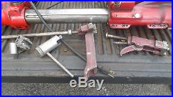 MACHINIST TOOLS LATHE MILL Van Norman Cylinder Boring Bar Machine & Attachments