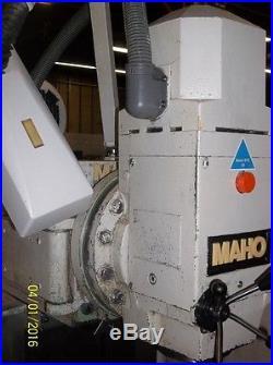 MAHO MH600E Universal CNC Horizontal Milling Machine
