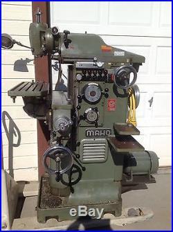 MAHO Milling Machine MH600 Universal