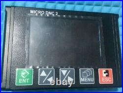 MICRO DNC. Drip feed DNC, USB READER to cnc machine