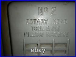MILWAUKEE / kEARNEY & TRECKER ROTARY HEAD MILL MDL D