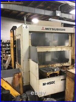 MITSUBISHI 4 Axis Horizontal CNC MILL