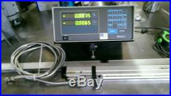 MITUTOYO DIGITAL READOUT APL 325 -L with scales 42 and 23