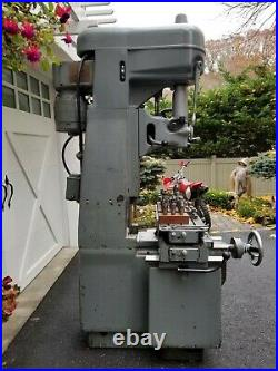 MOORE No. 1-1/2 Precision Vertical Jig Borer Mill Milling Machine Fully Tooled