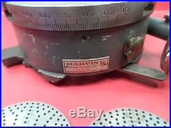 Machinist Milling Tool Rare Marvin Rotary Table