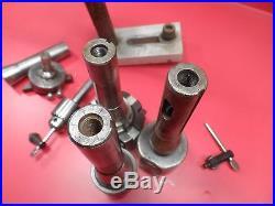 Machinist Milling Tools Drill Chucks, Fly Cutter, Bridgeport #1 Boring Head