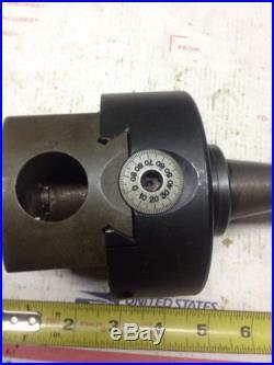 Machinist tool, R-8 shank boring head, bridgeport milling machine