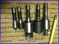 Machinist tools, R8 endmill holders, bridgeport milling machine