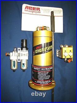 Maxi Torque Air Power Drawbar for Bridgeport mill (R8) TR-100 with DB-100