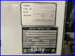 Mazak VTC-160A 2PC, Fusion 640M Control, Pallet Changer, New in 2002