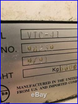 Mazak VTC-41 CNC Vertical Machining Center with Mazatrol EIA Controller, Mill