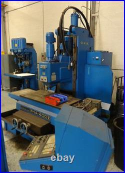 Mha-400ii Okk Auto Miller Cnc Vertical Bed-type Mill/machining Center -#27671
