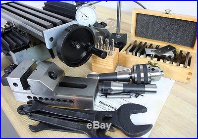 MicroMark MicroLux R8 Milling Machine (Sieg SX2 Mini Mill)