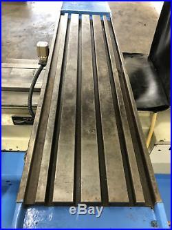 Mighty Comet Mv-5 Cnc Heavy Duty Vertical Milling Machine Bridgeport Lagun
