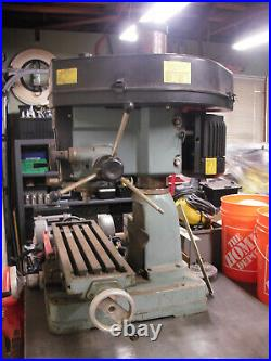 Milling Machine Bench MILL Table Top MILL 110/120 Volt R8 Benchtop Xlt Condition
