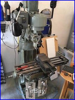Milling Machine CNC 3 Axis Bbridgeport Style