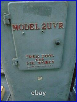Milling Machine Tree, MODEL 2UVR