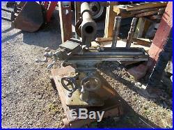 Milling machine B C Ames, vintage Ames milling machine, vintage milling machine