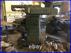 Milling machine, horizonal or vertical, Van Norman, excellent condition