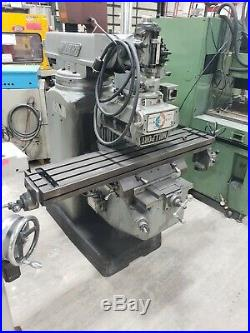 Millport Vertical Milling Machine 3hp 3 Phase 230 / 480 10x50 Table Power Feed