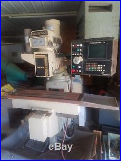 Milltronics CNC Mill, Partner 3 with Centurion 4 CNC Control, Knee Mill