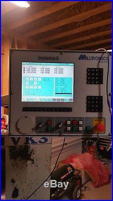 Milltronics partner 3 axes cnc