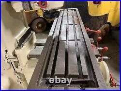 Milwaukee Kearney Trecker Model H Vertical Milling Machine Mill K&T
