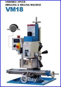 Mini Milling Drilling Machine Weiss VM18L 500x140mm / 20x6 1HP Motor