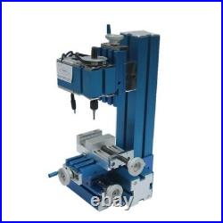 Mini Milling Machine DIY Woodworking Soft Metal Processing Tool for Hobby USA