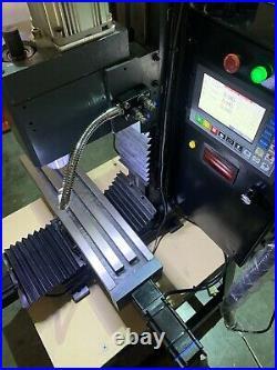 Mini cnc metal milling machine closed loop stepper motors