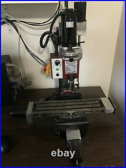 Mini mill bench top 3-axis CNC milling machine for small shop benchtop