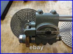 Myford lathe dividing head + dividing (division) plates
