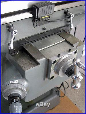 NEW! CLARK 2VS 9x49 Variable Speed Mill w/ 2 Axis DRO Milling Machine
