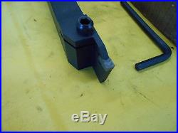 NEW INDEXABLE CARBIDE INSERT LATHE PARTING TOOL HOLDER groove ENCO 359-6100