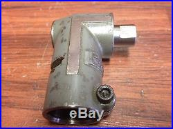NICE! BRIDGEPORT QRA MILLING ATTACHMENT QUILL MASTER RIGHT ANGLE