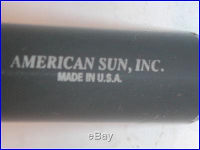 NOS USA AMERICAN SUN 2 45' Chamfer Face Mill 3/4 Shk, Bridgeport DeckelL 750-2A