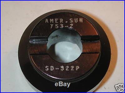 NOS US AMERICAN SUN 2 Indexable SHELL Face Mill 15 Deg 3/4 Bore, Deckel 753-2