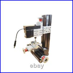 New 100240V Metal Mini Milling Machine DIY Woodworking Tool Student Modelmaking