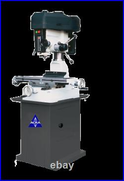 New Rong-Fu 8 x 28 RF-31 Mill/Drill Machine with Cabinet Stand